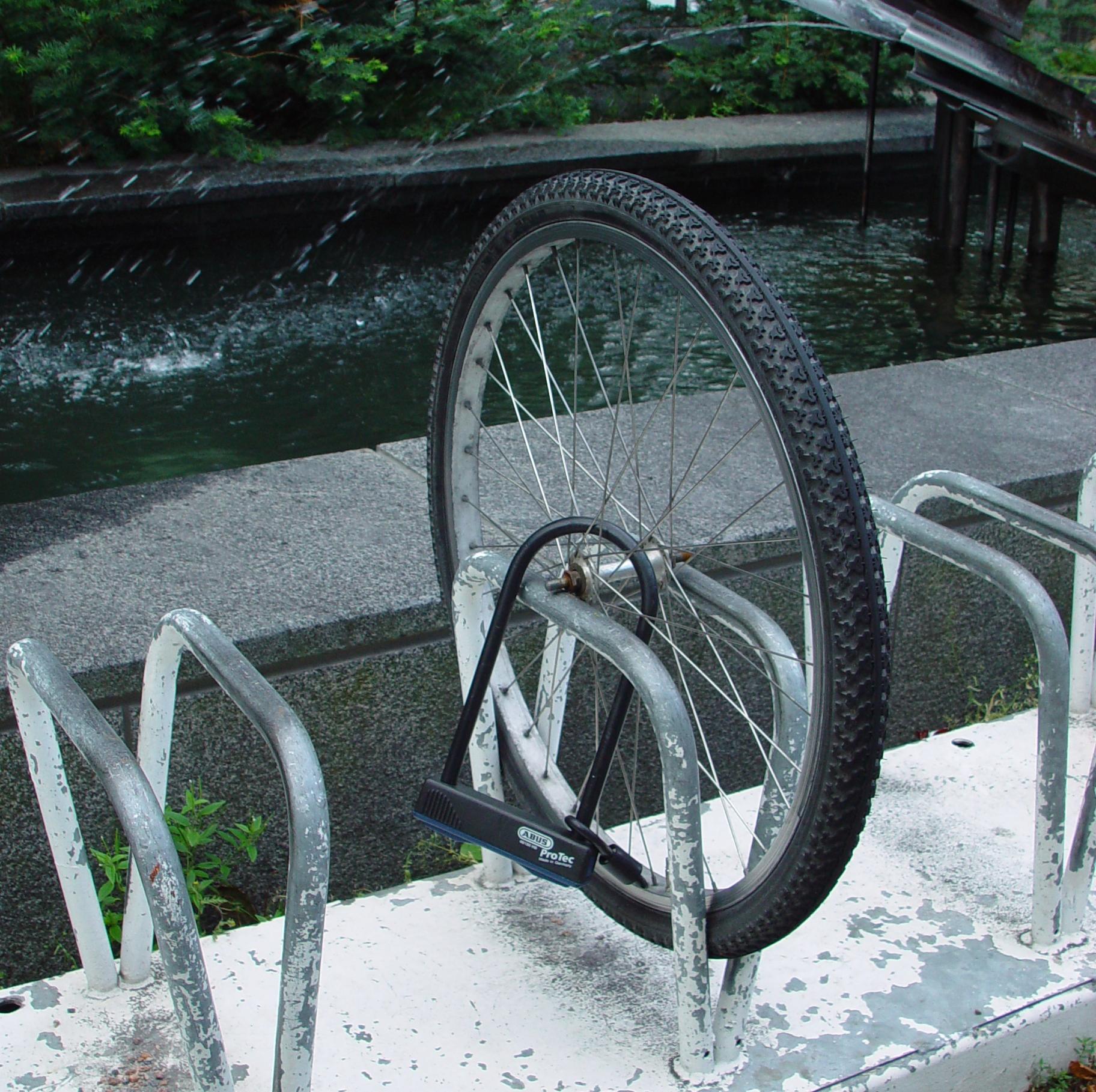 Stolen Bike - Front Wheel