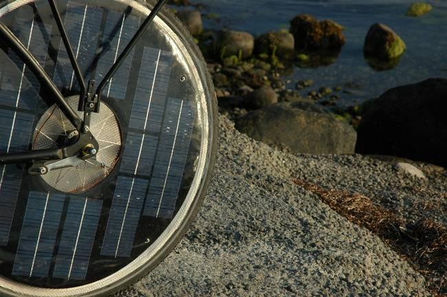 Solar Bike Wheel