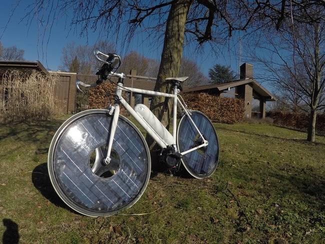 Solar Bike Resting